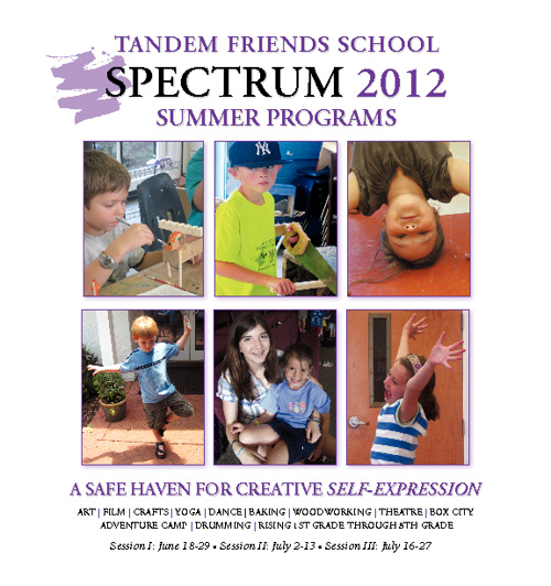 Spectrum Summer Programs 2012 Brochure