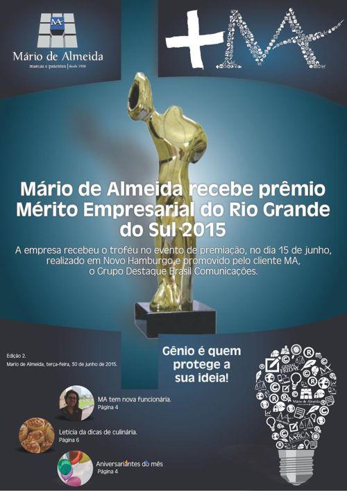 Revista Interna +MA - Edição 2. Junho/2015