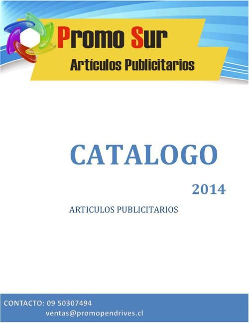 Catalogo PromoSur 2014