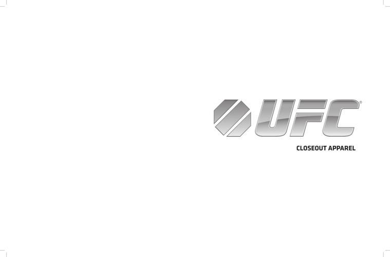 UFC Closeout Apparel