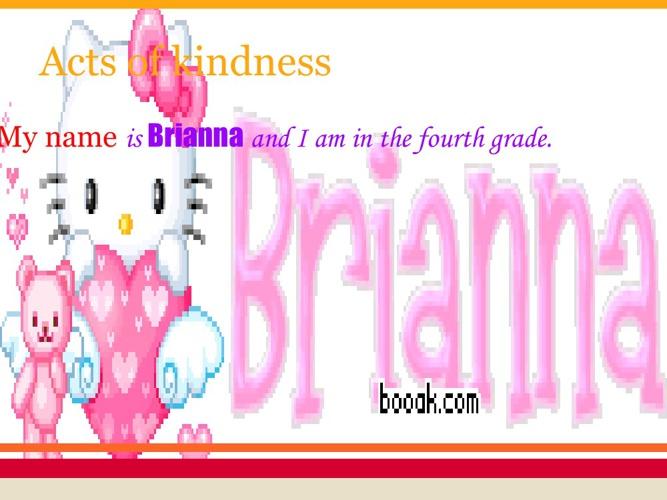 Brianna and Madeleine