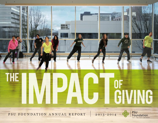 The Impact of Giving: PSU Foundation annual report 2013-14