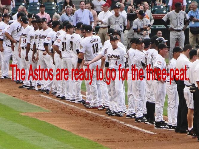 Astros Article
