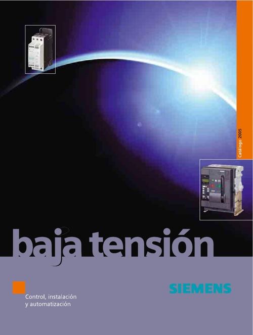 CATALOGO DE BAJA TENSIÓN SIEMENS