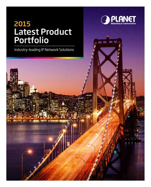 2015 Planet Product Portfolio