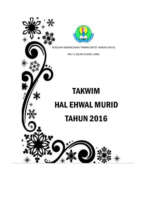 TAKWIM HEM 2016