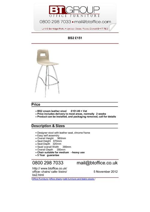 Bistro Furniture & Seating (101-150)