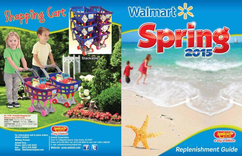 Walmart Catalog Spring2015