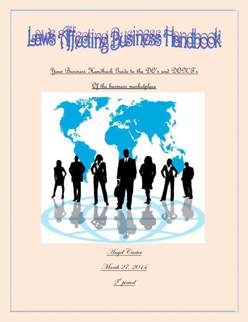 Laws Affecting Business Handbook Guide