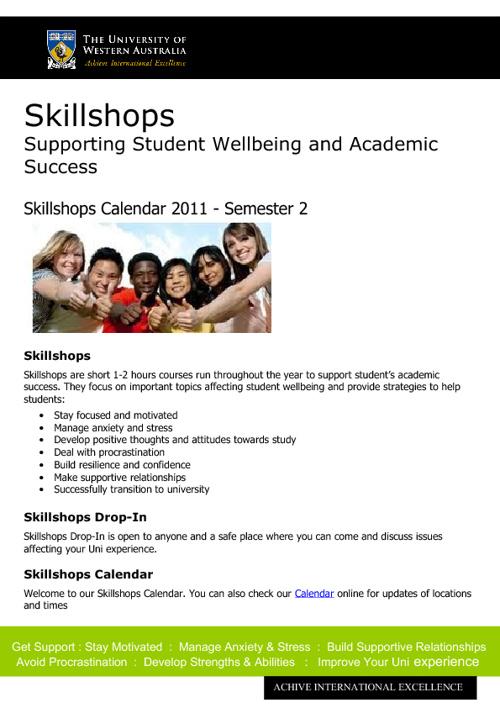 Calendar 2011 - Sem 2