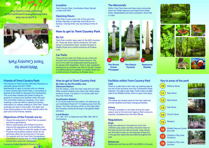 TRENT COUNTRY PARK MAP BROCHURE - FINAL