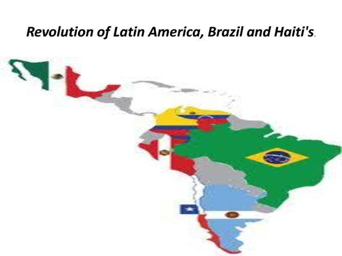 latin american revolution (hwh3)