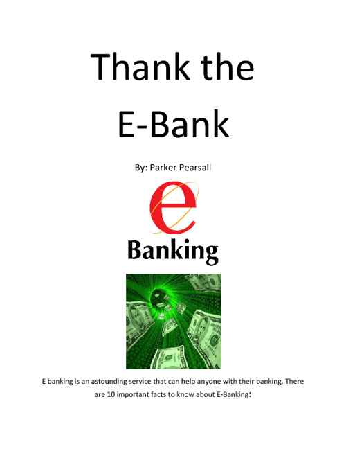 E-Banking Book