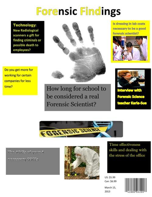Forensic Findings