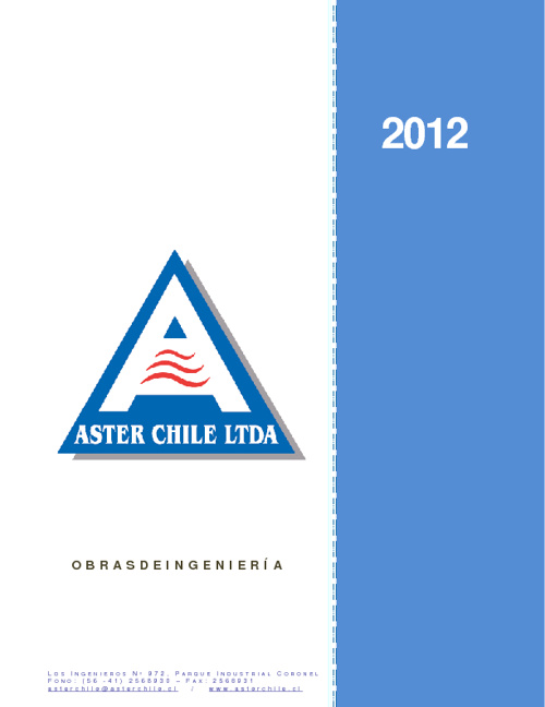 CURRICULUM ASTERCHILE JULIO 2012