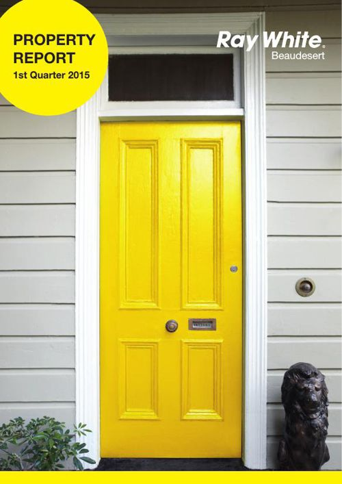Property Report - 1st Quarter 2015