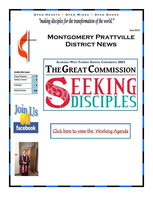MTPT June Newsletter