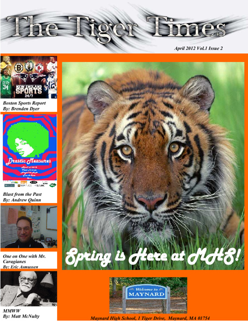 The Tiger Times - April Edition