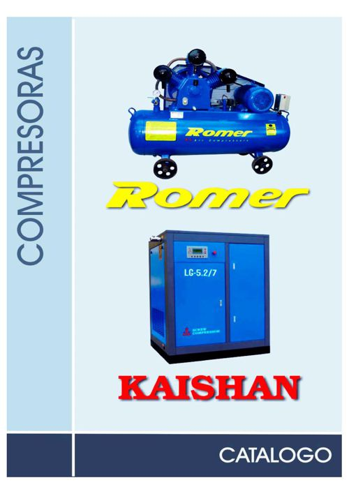Catalogo Compresoras Romer y Kaishan