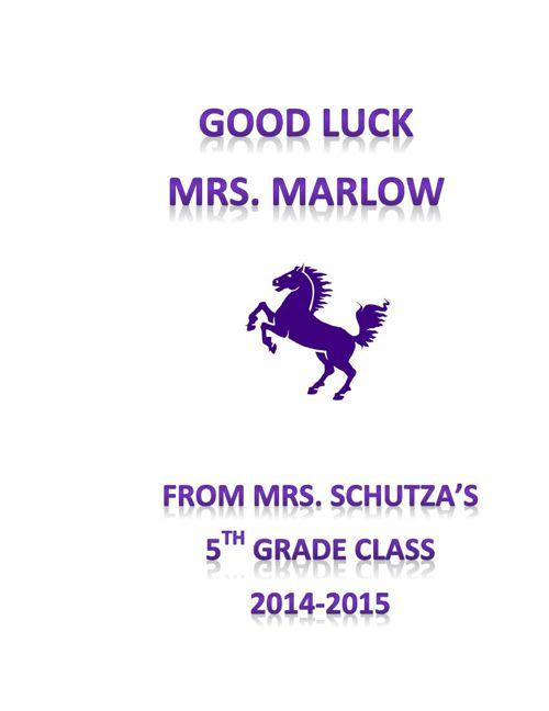 Mrs. Marlow