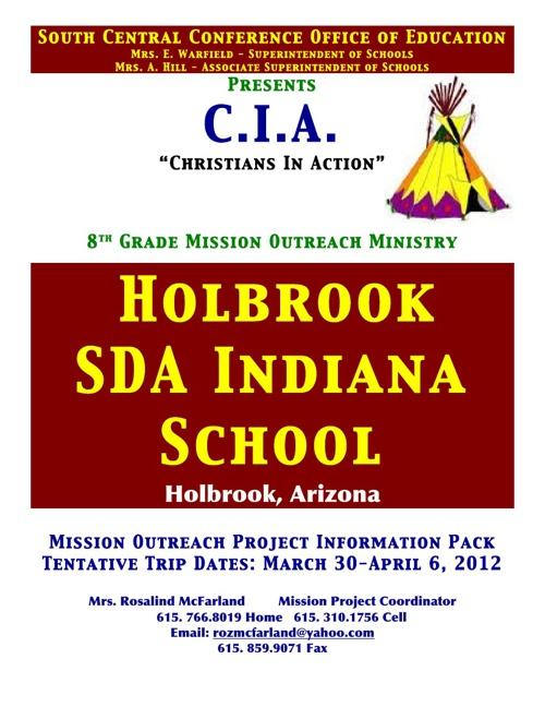 Mission Pack for Parents 2014 Mission Trip Flyer for schools