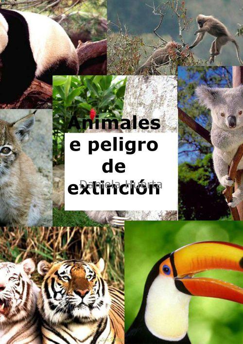 animales en peigro de extinción