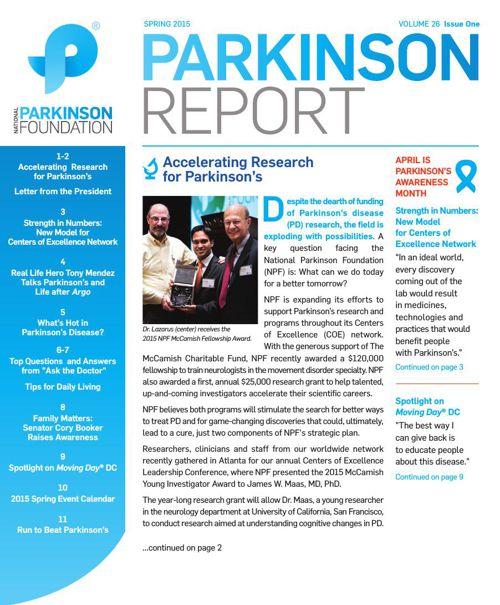 Spring 2015 Parkinson Report