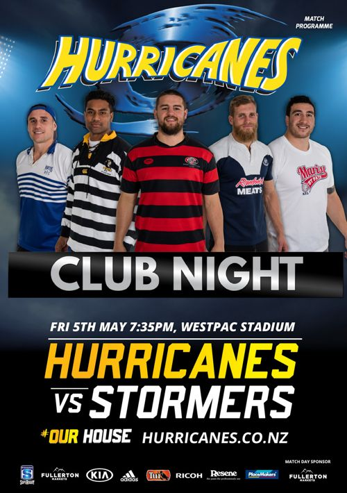 Hurricanes v Stormers - Official match programme