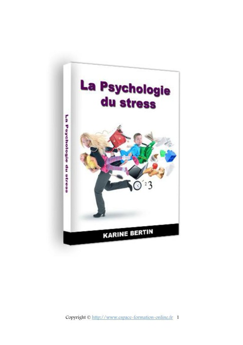 Psychologie du stress