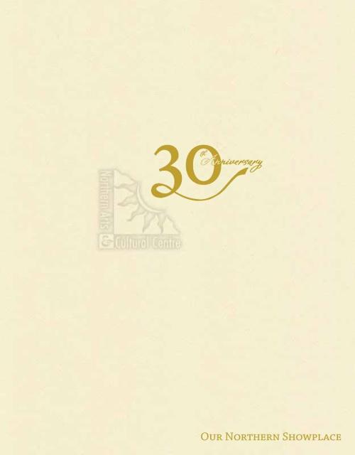 30th Anniversary Program