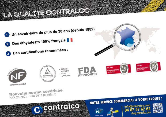 Catalogue Contralco 2015: outils de prévention et de sécurité ro