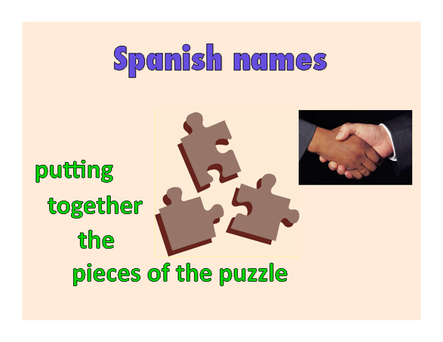 Names in hispanic culture
