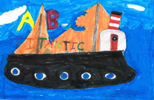 ABC Titanic by Katie