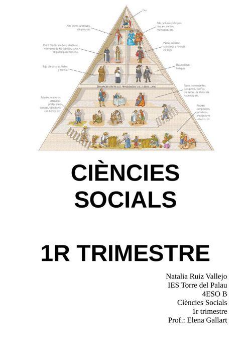 DOSSIER SOCIALS 1TRIM