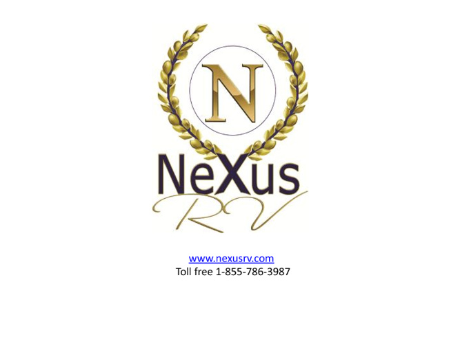 New Class C Motorhomes from NeXus RV - Factory Direct