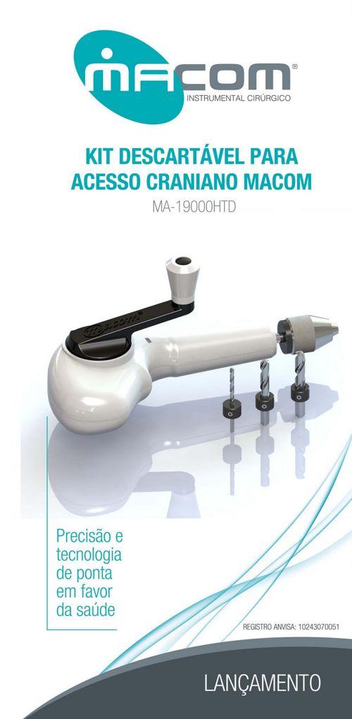 Macom - Acesso Craniano - Kit Descartável