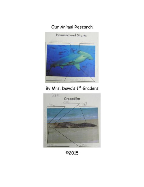 Dowd animal research part 1