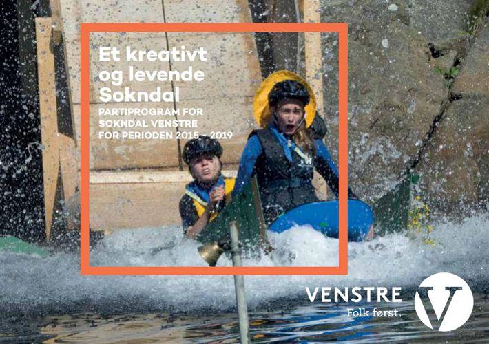 Valgprogram for Sokndal Venstre 2015-2019