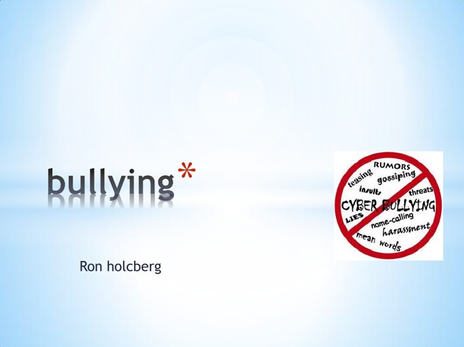 Copy of Copy of cyberbullying