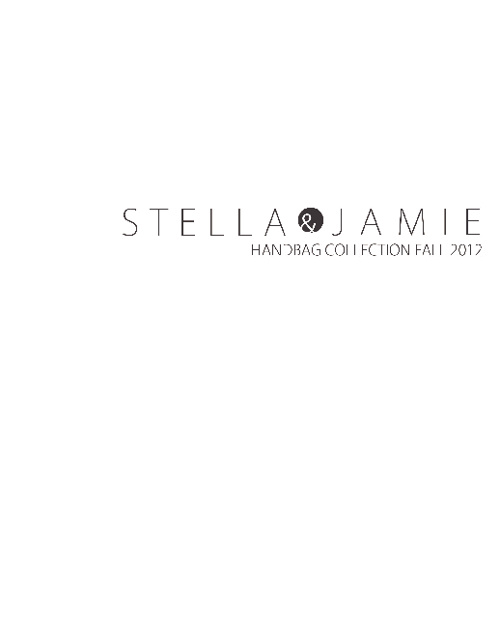 Stella & Jamie Fall 2012 Handbag Collection