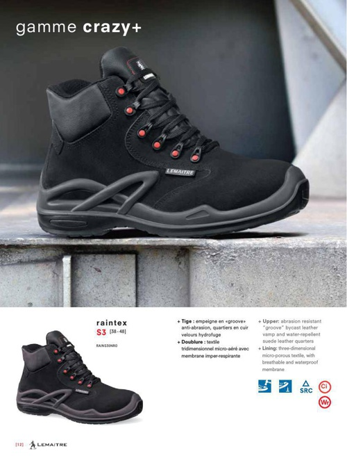 Catalogue chaussures - Charly Textile