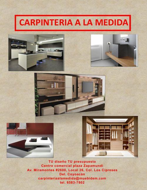 catalogo Carpintería a la Medida