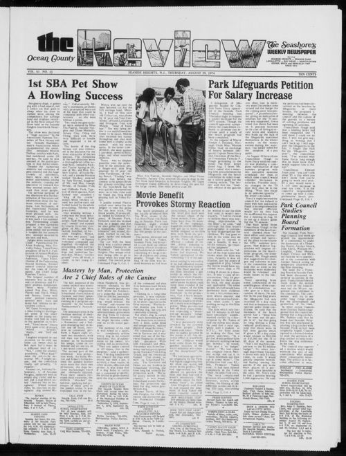 Review August 1974