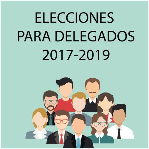 Elecciones para delegado 2017-2019