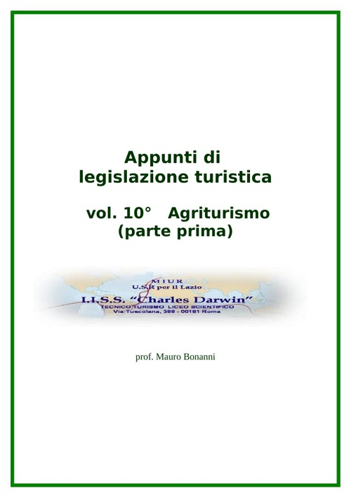 Agriturismo parte 1