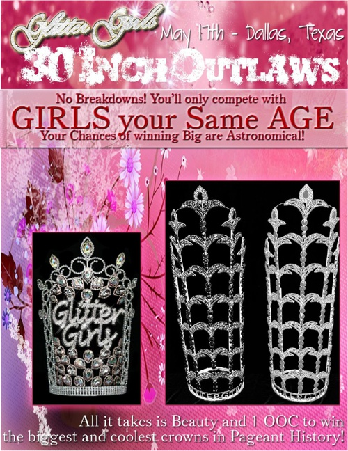 Glitter Girls: 30 Inch Outlaws