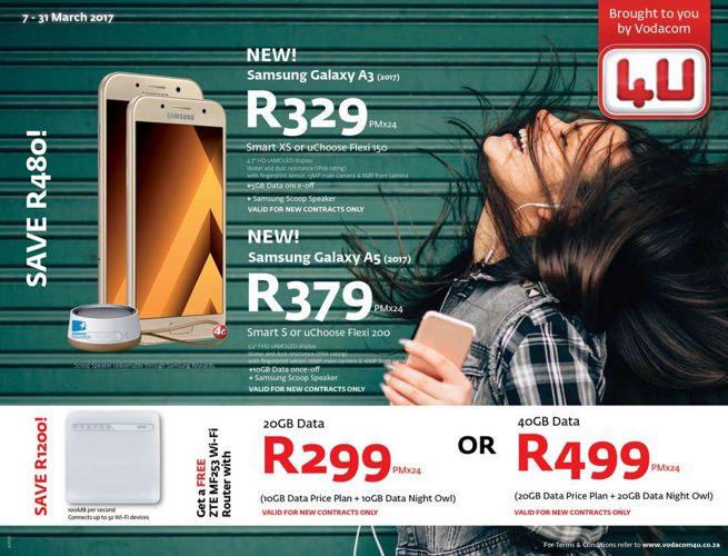 Vodacom4U March