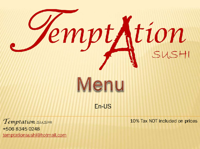 Temptation Sushi en-US