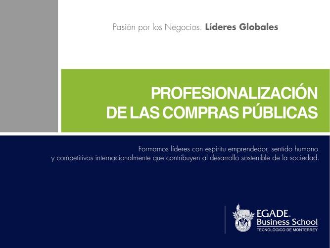 Profesionalización de las Compras Públicas EBS