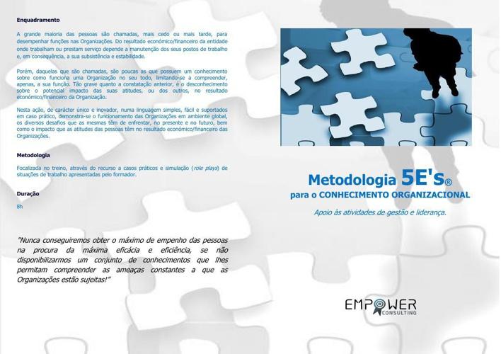 Metodologia 5 E's